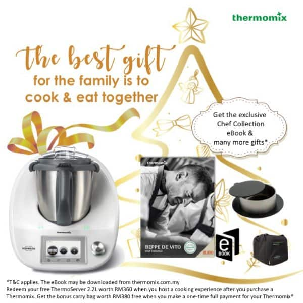 Thermomix Dec 2018 purchase and host promotion MY