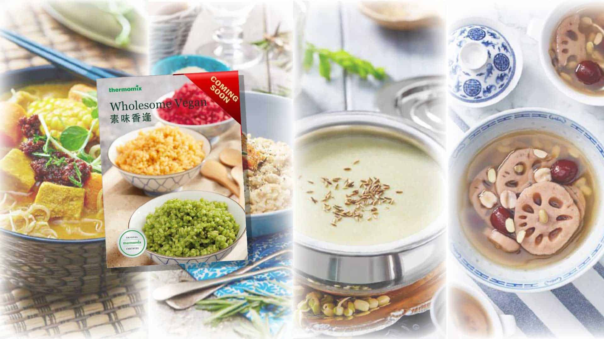 PREORDER NOW! THERMOMIX® WHOLESOME VEGAN!