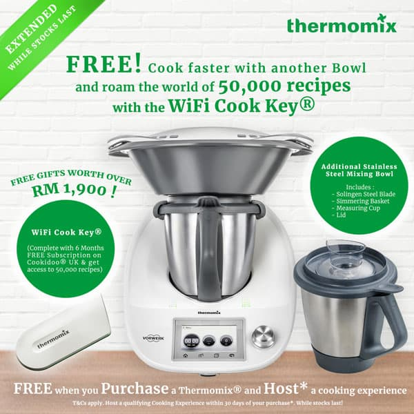 Thermomix Malaysia Bowl Offer