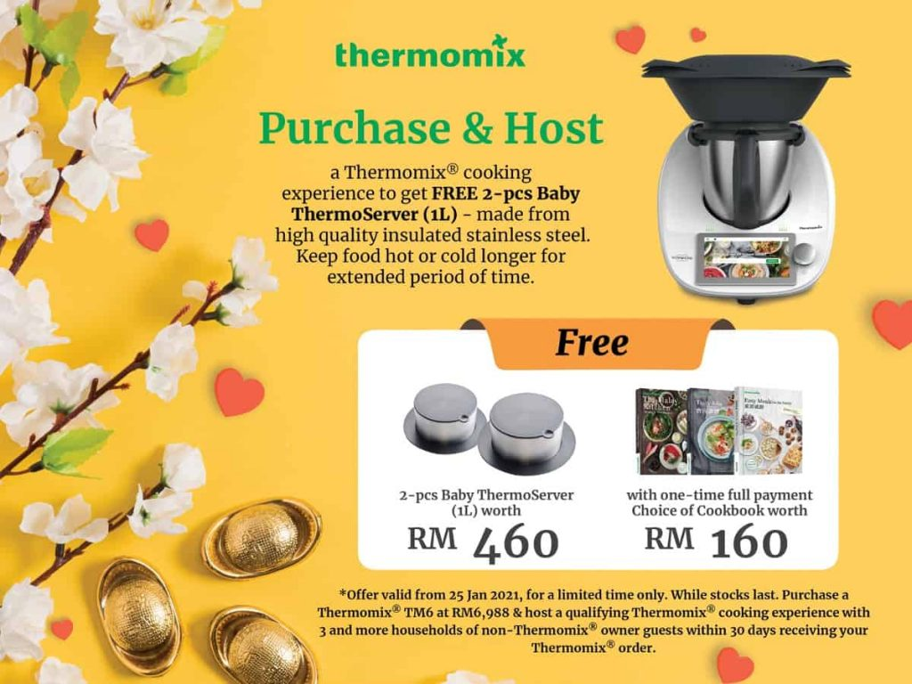 Thermomix promotion Period 2 double thermoServer 1L